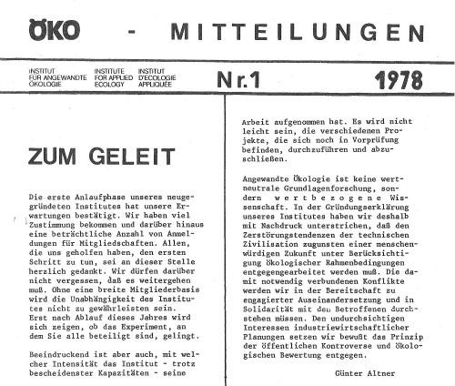Die 1970er Jahre: Die streitbaren Wissenschaftsrebellen